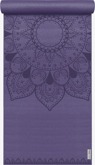 YOGISTAR.COM Yogamatte 'Basic Art Collection Harmonic Mandala' in aubergine / dunkellila, Produktansicht