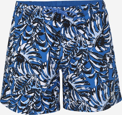 BOSS Zwembroek 'Leaffish' in de kleur Blauw, Productweergave