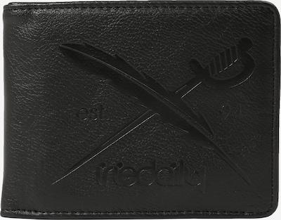 Iriedaily Porte-monnaies 'Flag Two Punch' en noir, Vue avec produit