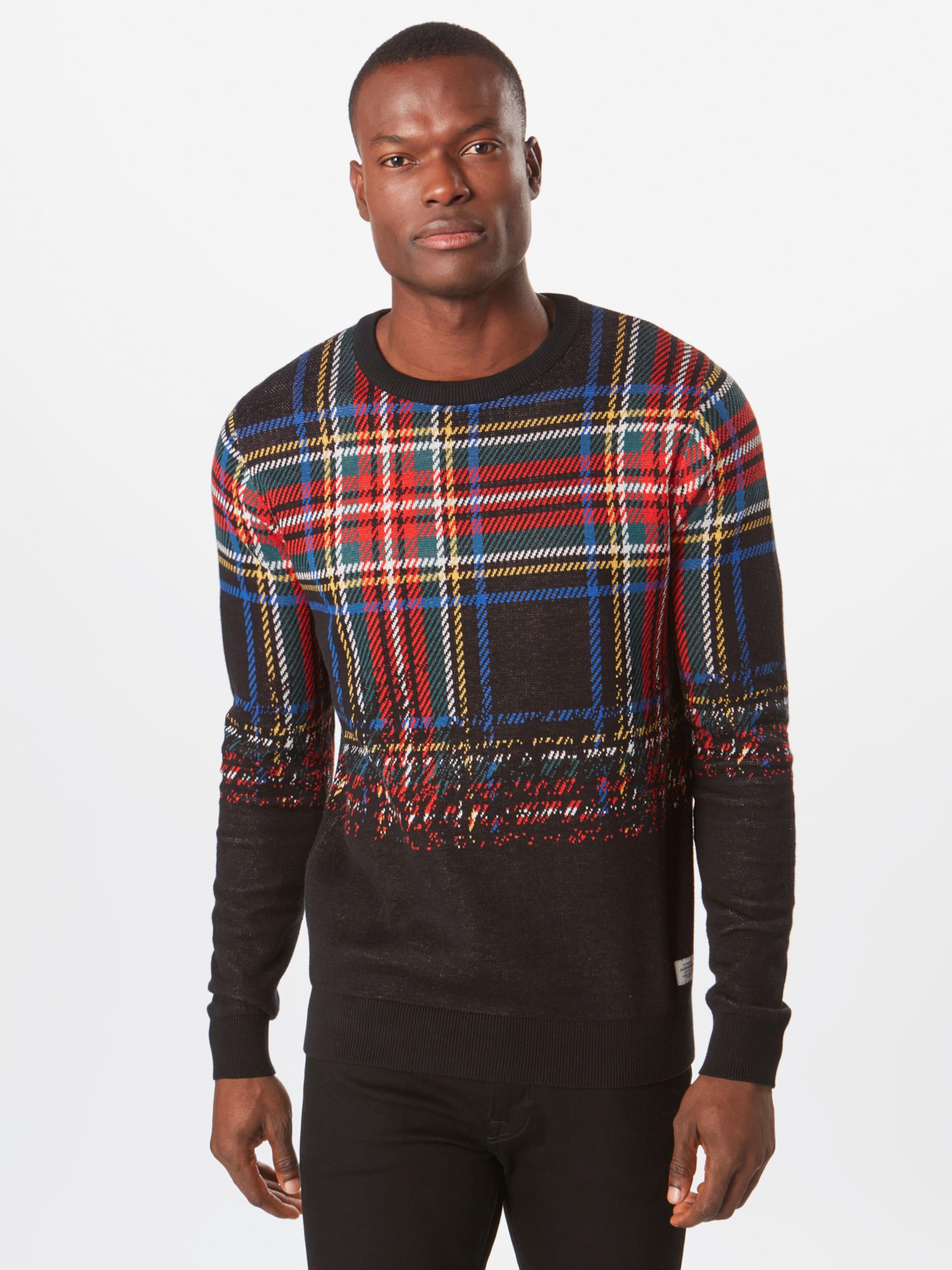 'jortate Jackamp; Neck' In BlauRot Pullover Crew Knit Jones 0PnX8kwO