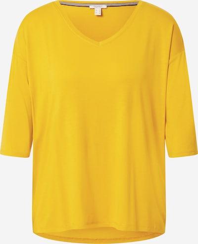 ESPRIT Tričko 'Noos' - zlatá žltá: Pohľad spredu