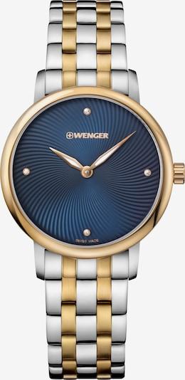 WENGER Analoog horloge 'Urban Donnissima' in de kleur Nachtblauw / Goud / Zilver, Productweergave