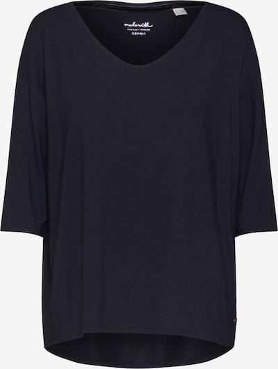 ESPRIT T-shirt 'Noos' en noir: Vue de face