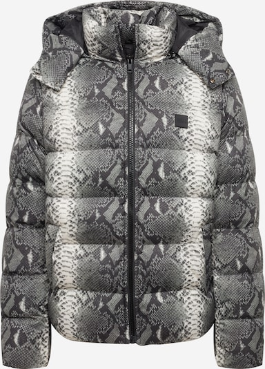 Urban Classics Jacke in anthrazit / hellgrau / weiß, Produktansicht