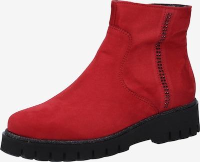 ARA Stiefelette in rot / schwarz, Produktansicht