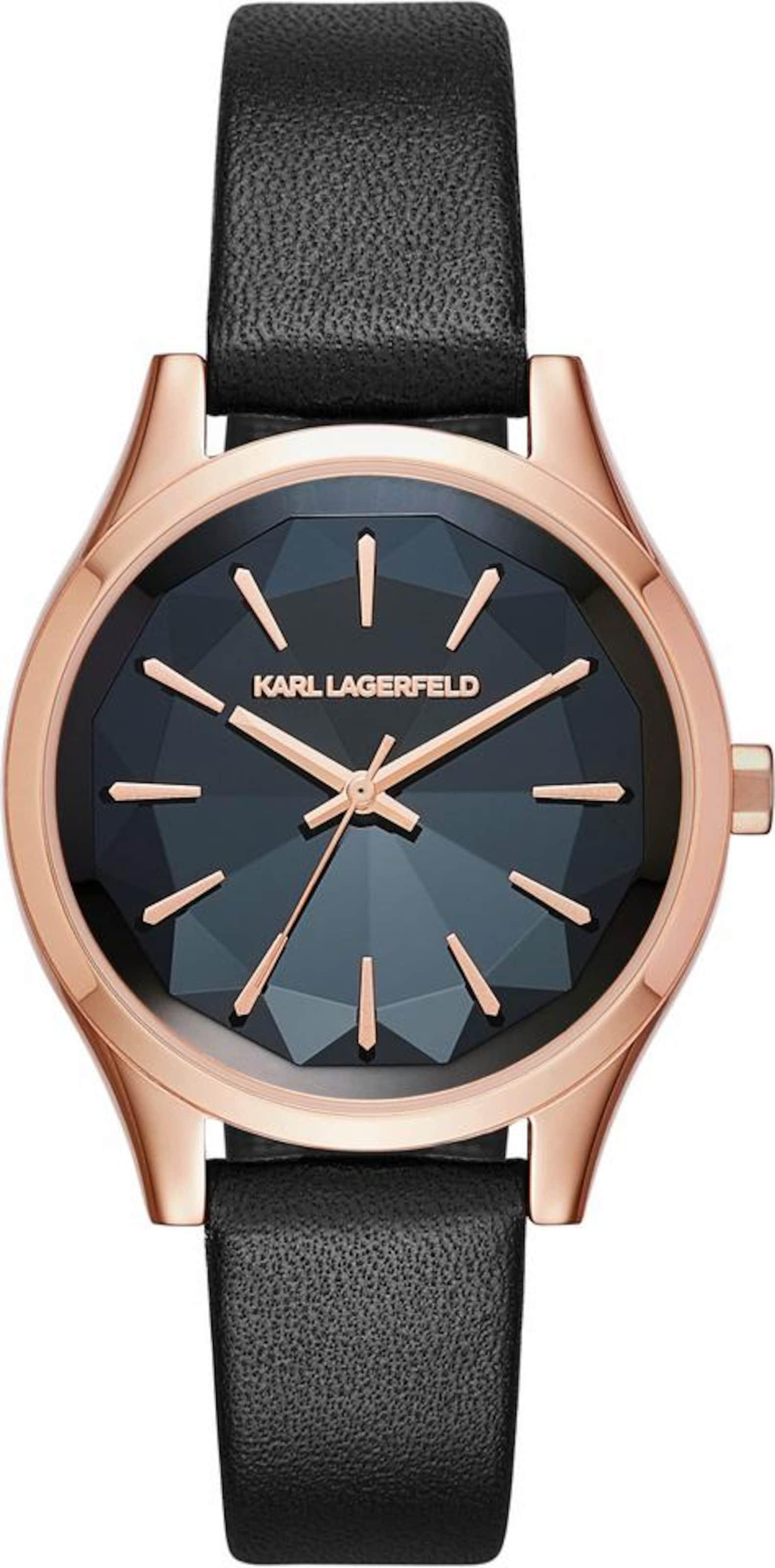 Karl Lagerfeld Quarzuhr 'JANELLE' Billig Authentisch Verkauf Neuesten Kollektionen Auf Heißen Verkauf Online Billigsten Beeile Dich cddcU