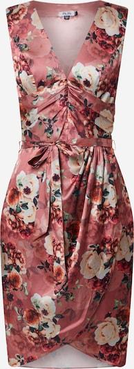 Chi Chi London Kleid  'Daylla' in mischfarben / koralle / rosé, Produktansicht