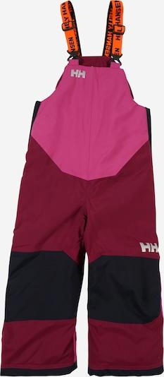 HELLY HANSEN Sporthose 'RIDER 2' in marine / grau / lila / weinrot, Produktansicht