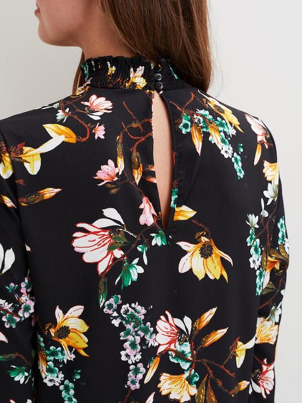 VILA Gemustertes, langärmeliges Kleid