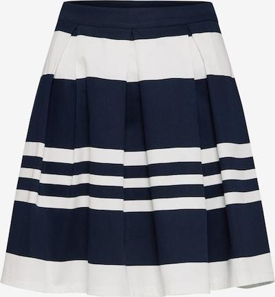 ABOUT YOU Jupe 'Daniela' en bleu marine / blanc, Vue avec produit