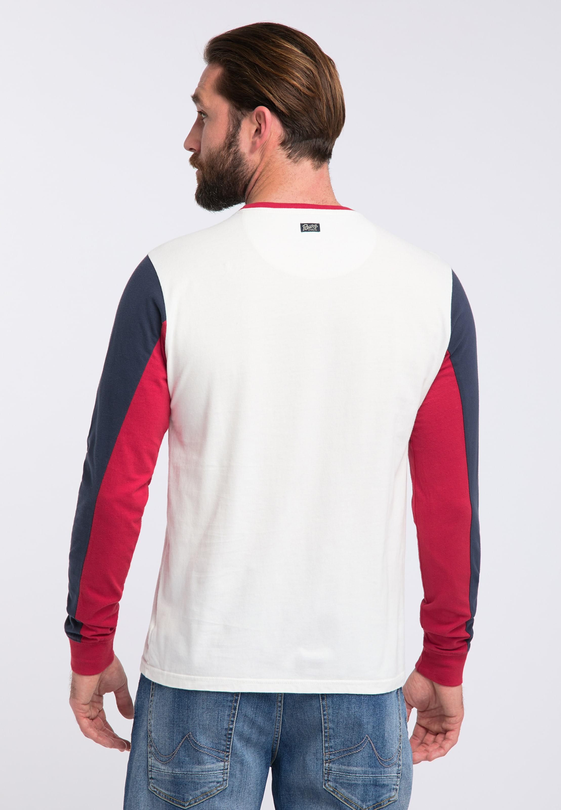 DunkelblauRot Weiß In Industries Shirt Petrol Nw80OPXZnk