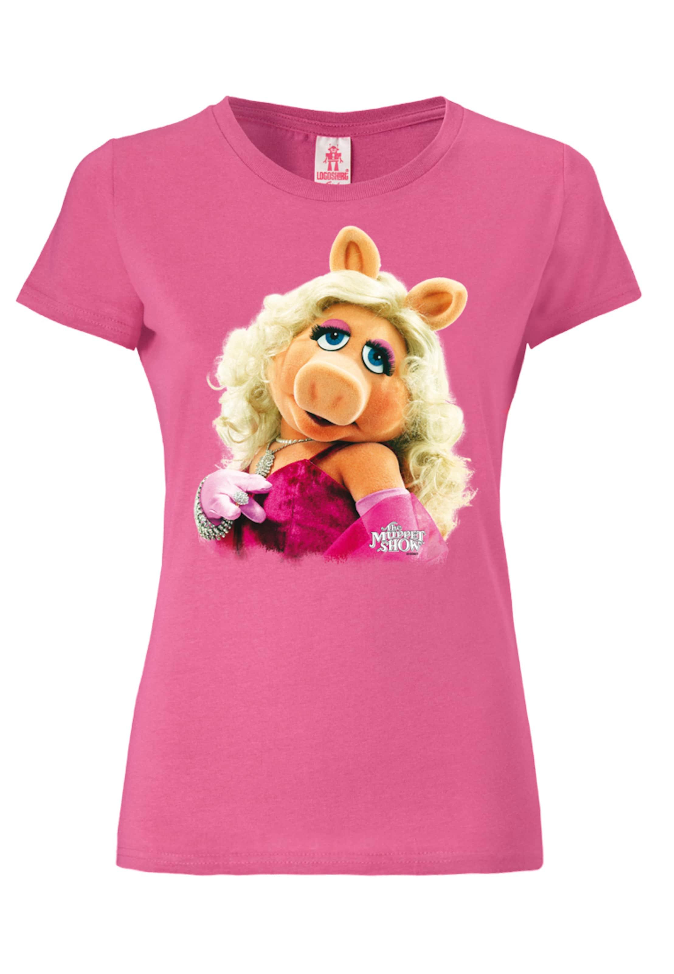 In Pink Logoshirt T 'miss PiggyPortrait' shirt mwON0v8n