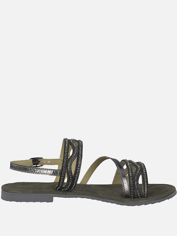 TAMARIS Sandale 'Strappy Sandale' in schwarz | ABOUT YOU