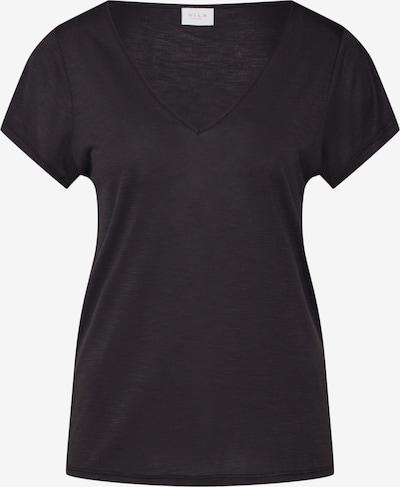 VILA Shirt 'VINOEL S/S' in schwarz, Produktansicht