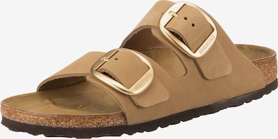 BIRKENSTOCK Pantolette in camel, Produktansicht