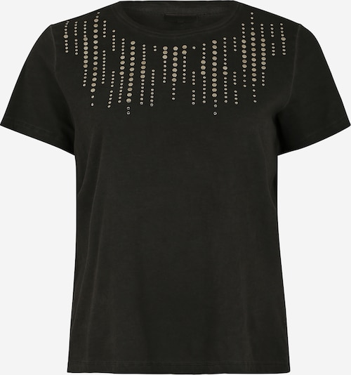 ONLY Carmakoma Shirt 'CARTROUBLE SS TEE' in schwarz, Produktansicht