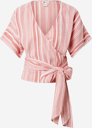 BILLABONG Bluse 'Local Shores' in pink / weiß, Produktansicht