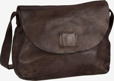 Harold's Satteltasche in dunkelbraun, Produktansicht