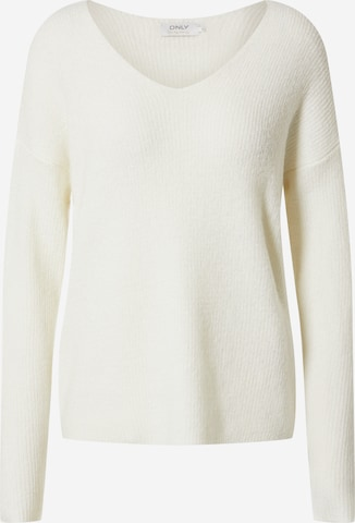 Pull-over 'CAMILLA' ONLY en blanc