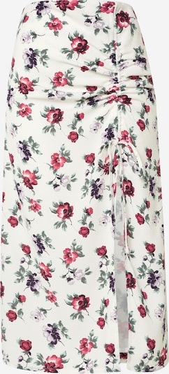Fashion Union Rok in de kleur Grasgroen / Pink / Wit, Productweergave