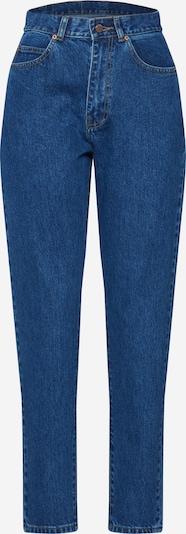 Dr. Denim Jeans 'Nora' i blå: Sedd framifrån