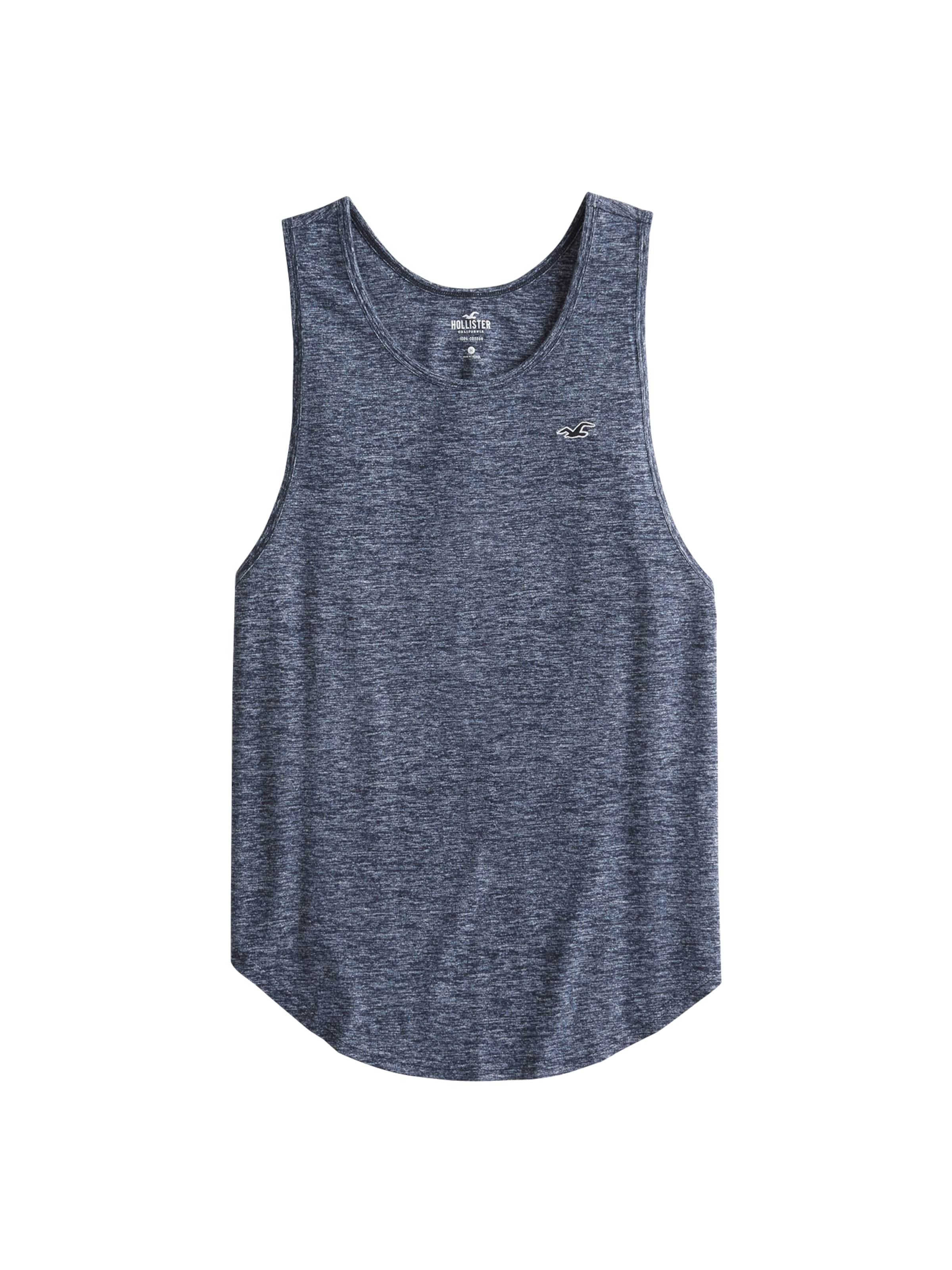 T Hollister En Marine Bleu shirt Yy67gbf