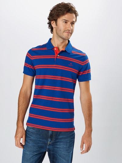GANT Shirt 'D1' in de kleur Donkerblauw / Rood: Vooraanzicht