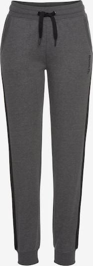BENCH Hose in schwarz / schwarzmeliert, Produktansicht