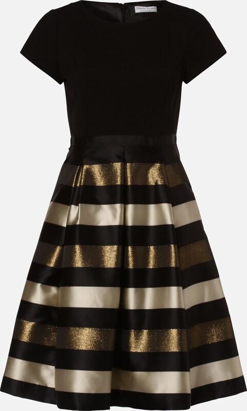 Marie Lund Kleid in gold / schwarz / perlweiß | ABOUT YOU