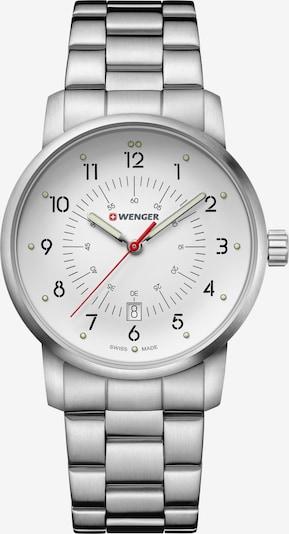 WENGER Quarzuhr 'Avenue' in silber / weiß, Produktansicht
