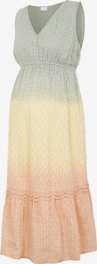 MAMALICIOUS Jurk in de kleur Pasteelgeel / Pastelgroen / Pasteloranje, Productweergave