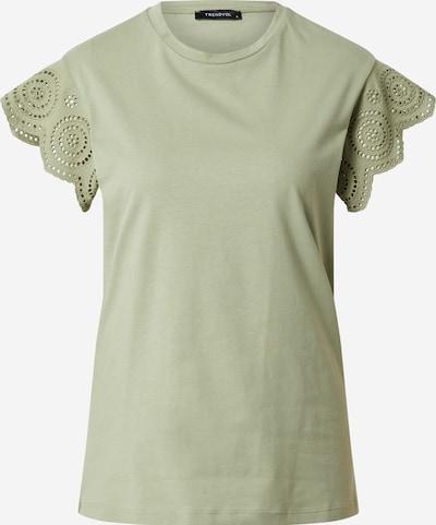 Tricou Trendyol pe verde, Vizualizare produs