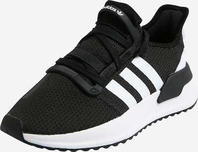 ADIDAS ORIGINALS Sneaker 'U_Path Run' in schwarz / weiß, Produktansicht