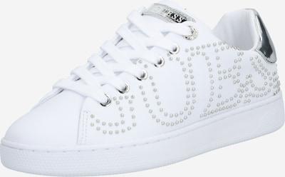 Sneaker low 'Razz' GUESS pe argintiu / alb, Vizualizare produs