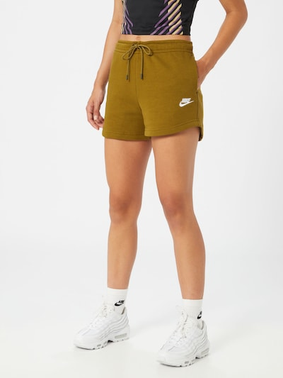 Nike Sportswear Shorts in oliv, Modelansicht