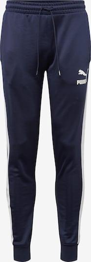PUMA Hose 'Iconic T7 Track Pants PT' in dunkelblau / weiß, Produktansicht