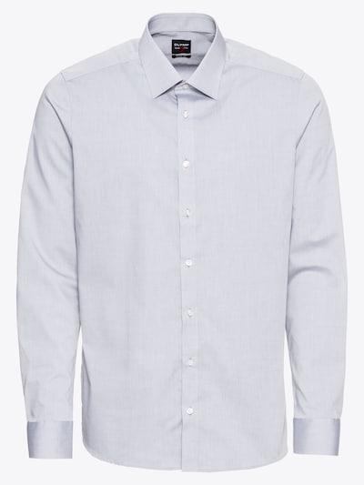 OLYMP Poslovna košulja 'Level 5 Chambray' u svijetlosiva, Pregled proizvoda