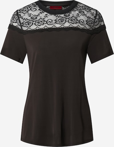 HUGO Shirt 'Doania' in schwarz, Produktansicht