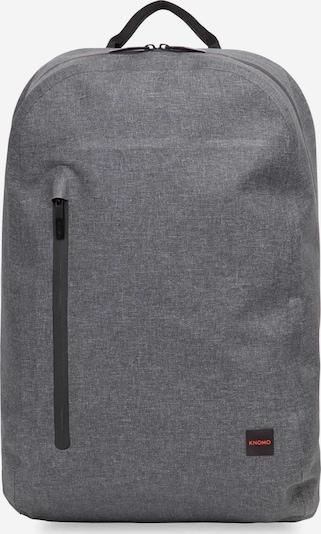 KNOMO Rucksack 'Thames' in graumeliert / schwarz, Produktansicht