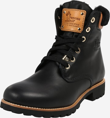PANAMA JACK Lace-Up Ankle Boots 'Panama 03 Igloo Travelling ' in Black
