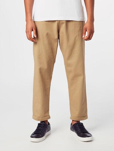 Pantaloni cutați 'JEFF ' JACK & JONES pe bej, Vizualizare model