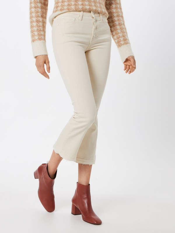 Funky Buddha Jeans in offwhite: Frontalansicht