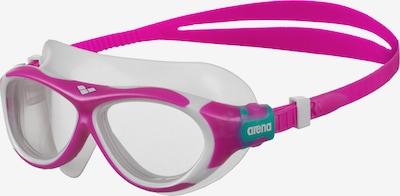 ARENA Schwimmbrille 'Oblo 1E034-70' in pink / weiß, Produktansicht