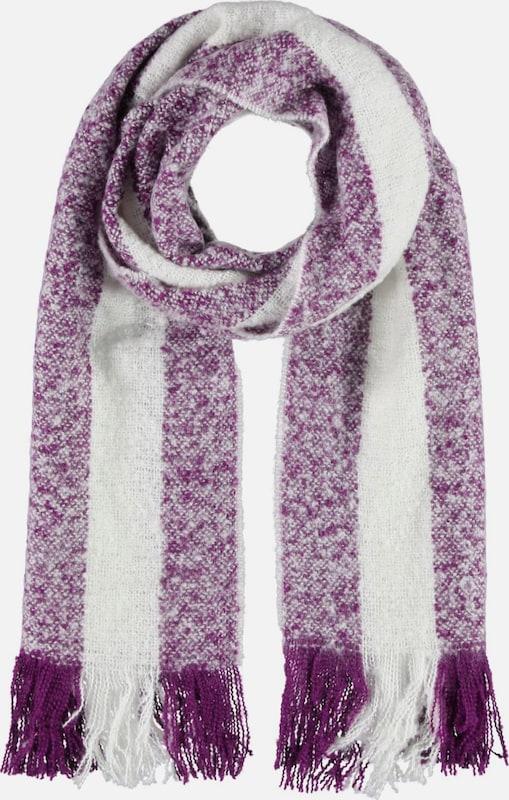 Passigatti Flauschiger Streifen-Schal