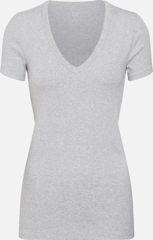 Chiné shirt En Gris T Gap 7yg6bf