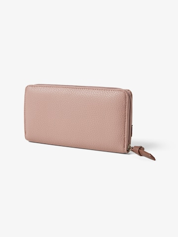 TOM TAILOR Geldbörse 'Juna' in Pink