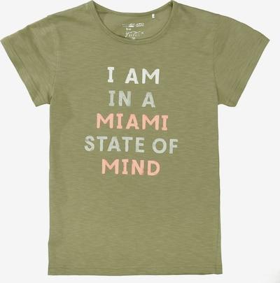 STACCATO T-Shirt in oliv / mischfarben, Produktansicht