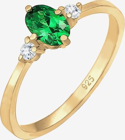 ELLI Δαχτυλίδι σε χρυσό / πράσινο, Άποψη προϊόντος