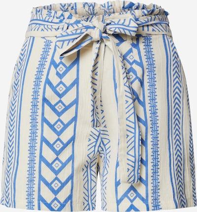 Pantaloni con pieghe 'VMDICTHE' VERO MODA di colore blu / bianco, Visualizzazione prodotti