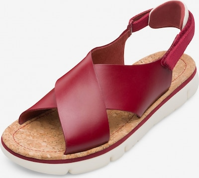 CAMPER Sandalen ' Oruga ' in rot, Produktansicht